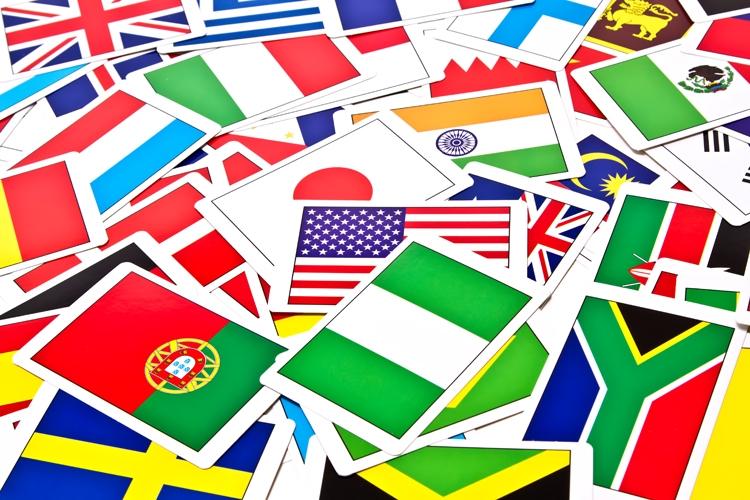 世界の国旗カード